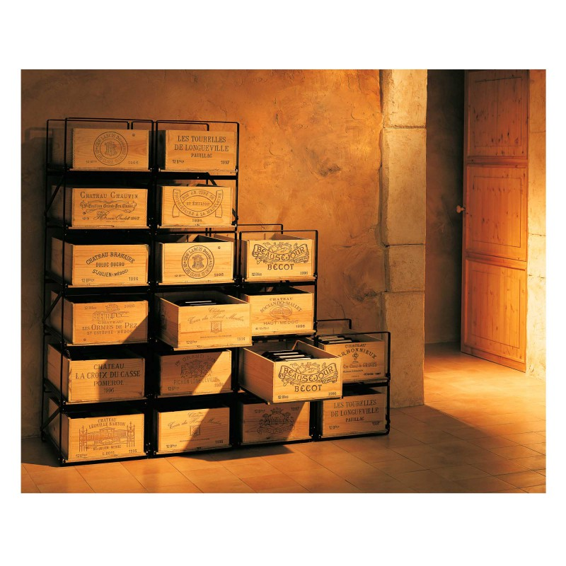 modulorack syst me de rangement pour stocker les caisses de vin eurocave. Black Bedroom Furniture Sets. Home Design Ideas