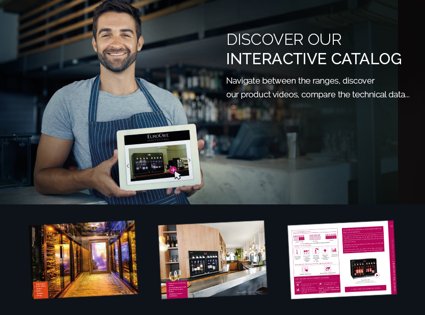 To discover our interactive catalog